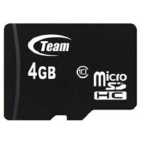 TEAMジャパン Team製microSDHCカード4GB class10 TUSDH4GCL1003