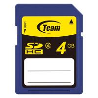 TEAM SDHCカード 4GB Class4 ( TG004G0SD24I )