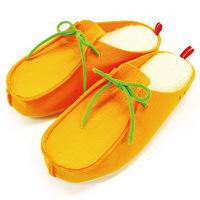 【在庫一掃セール】Osway シープボア モカタイプスリッパ Mサイズ オレンジ OBAA5106OR 1足 オクムラ