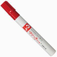 油性ペン マジックインキNo.500 細書き 赤 寺西化学工業 M500-T2