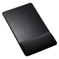 サンワサプライ リストレスト付マウスパッド ブラック MPD-GELNNBK