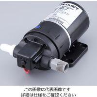 日発ジャブスコ 2ピストンダイアフラム小型圧力ポンプ 8700mL/min 2100-12 1台 1-1503-01 (直送品)