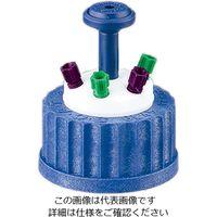 アズワン 安全キャップ(GL45ボトル用) 4ポート 107410 1セット 1-1735-04 (直送品)