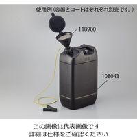 アズワン 液面計付き廃液回収容器 20L(導電タイプ) 108043 1本 1-1733-02 (直送品)