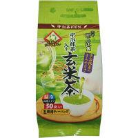 上辻園 宇治抹茶入玄米茶ティーバッグ 3g 1袋(30バッグ入)