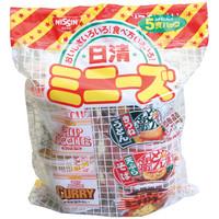 日清食品 日清ミニーズ<東日本版> 1箱(30食:5食入×6パック)