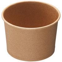 ストリックスデザイン フードカップ 未晒し 300ml 1セット(500個:50個入×10袋)