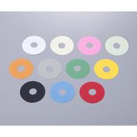 アズワン ポリサイフォンポンプ用カラータグ 10色セット 1セット 1-1595-01 (直送品)