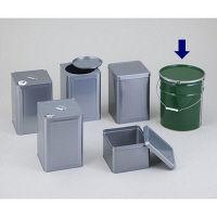 石井ブラシ産業 金属缶 ペール缶 20L 1個 1-1806-06 (直送品)