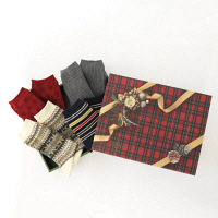 クリスマスギフト レディース靴下 タビオ