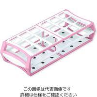 アズワン マルチラック 50mL×18本 ピンク S600-30L 1箱(10個) 1-4311-04 (直送品)
