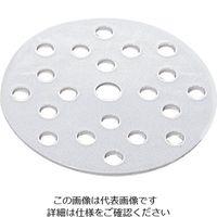 アズワン デシケーター用中板 φ210mmカトマン型 1枚 1-4412-04 (直送品)