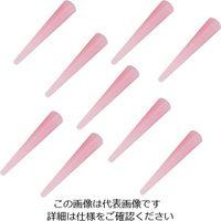 アラム(ARAM) シリコンロング栓 5号 100個入 5 ピンク 1袋(100個) 1-4420-05 (直送品)