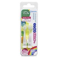 こども用電動歯ブラシ プチブルレインボー 替えブラシ 0才~ かため 白 シースター