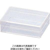 アズワン スチロール角型ケース 10個 100×65×28mm 1箱(10個) 1-4698-05 (直送品)