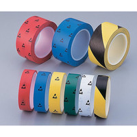 アズピュア(アズワン) ESD PETラインテープ25黄/黒 十巻 1袋(330m) 1-4807-56 (直送品)