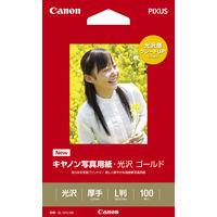 キヤノン 写真用紙・光沢ゴールド L版 GL-101L100 1箱(100枚入)