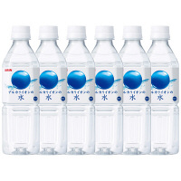 アルカリイオンの水 500ml 6本