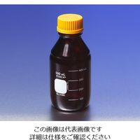 PYREX メディウム瓶(PYREX(R)オレンジキャップ付き) 遮光 250mL 51395-250 1本 1-4993-04 (直送品)