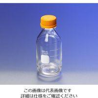PYREX メディウム瓶(PYREX(R)オレンジキャップ付き) 透明 500mL 1395-500 1本 1-4994-05 (直送品)