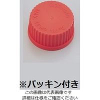 PYREX メディウム瓶交換キャップ 赤 GL-32 1395-32HTC 1個 1-4995-05 (直送品)