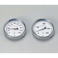 佐藤計量器製作所 バイメタル温度計 サーモペッター 0〜200 1個 1-600-01 (直送品)