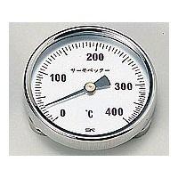 佐藤計量器製作所 バイメタル温度計 サーモペッター 0〜400 1個 1-600-02 (直送品)