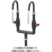 アズワン 樹脂製蛇口(PVC製) W 1個 1-6012-02 (直送品)