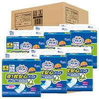 アテント 尿とりパット 夜1枚安心パッド4回吸収 1ケース(45枚×6パック) 大王製紙