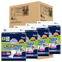 アテント 尿とりパット 夜1枚安心パッド10回吸収 1ケース(18枚×4パック) 大王製紙