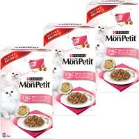 MonPetit(モンプチ) キャットフード ボックス 子ねこ 7種のブレンド小魚入り 240g 1セット(3個) ネスレ日本