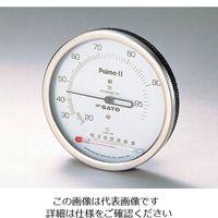 佐藤計量器製作所 パルマII型湿度計 温度計付 1台 1-622-11