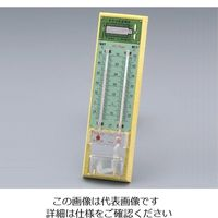 東亜計器製作所 トヤマ式乾湿計 ー10〜50℃ 1台 1-627-01 (直送品)