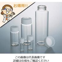 アズワン ラボランスクリュー管瓶 60mL 50+5本入 No.7L 1箱(55個) 1-6347-01 (直送品)