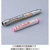 日油技研工業 サーモクレヨン(R)M(不可逆性・ペンシルタイプ) 赤 M-80 1本 1-639-04 (直送品)