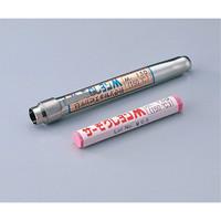 日油技研工業 サーモクレヨン(R)M(不可逆性・ペンシルタイプ) うす赤 M-200 1本 1-639-16 (直送品)