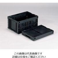 三甲(サンコウ/SANKO) 折りたたみコンテナー(導電) 75B 75B(2)BK 1個 1-6406-04 (直送品)