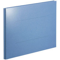 アスクル 背幅伸縮ファイルPPラミネートタイプ A3E ブルー 89985 1箱(50冊) オリジナル