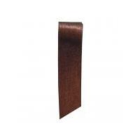 シングルサテンリボン ブラウン 幅19mm×20m巻   1セット(5巻:1巻×5) ヘッズ