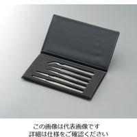 ワイ・エム・ティ 非磁性ステンレスピンセット 5本組 SAセット 1式 1-6691-01(直送品)