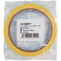 【アウトレット】共和 バッグシーリングテープNo.25(PET)9×50黄 HZ-022-6