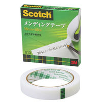 スコッチ メンディングテープ 大巻 3インチ 巻芯経76mm 詰替用 幅18mm×長さ50m 1巻 スリーエム 810-3-18