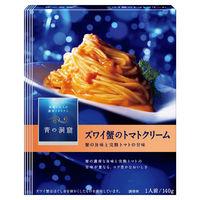 日清フーズ 青の洞窟 ズワイ蟹の旨み豊かな蟹のトマトクリーム 140g 1食