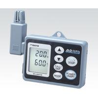 佐藤計量器製作所 記憶計 SK-L200THIIα(温湿度一体型) 1台 1-7793-03 (直送品)