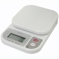 ドリテック(DRETEC) デジタルはかり コンパクトスケール ホワイト 1kg KS-108 1台