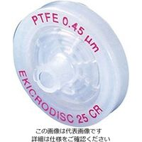 PALL(日本ポール) エキクロディスク(R)シリンジフィルター PTFE 0.45μm/φ25mm E252 1箱(50個) 1-8459-09 (直送品)
