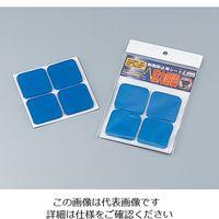 インテリムジャパン 耐震シート 50×50×5mm 1袋(4枚) 1-8529-01(直送品)