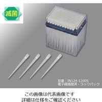 アズワン アイビスロングフィルターチップ 96本/ラック×10ラック IN124-1200S 1箱(960本) 1-8548-03 (直送品)