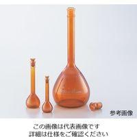 アズワン メスフラスコ 茶 50mL 1個 1-8564-25 (直送品)