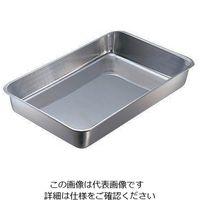 日本メタルワークス 頑固な汚れも水で落とせる角バット 21枚取 (242×197×38mm) 1個 1-8676-09 (直送品)